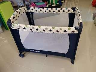 Mother are Baby Playpen / travel cot starlight
