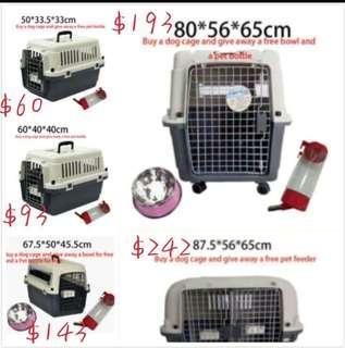 🚚 Aviation pet dog cage