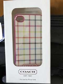 Coach iPhone 4 case