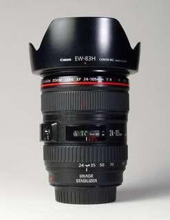 Canon 24-105 F4L like new condition