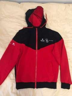 🚚 Genting Hong Kong red black hoodie
