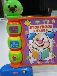 Storybook Rhymes Toy/Book