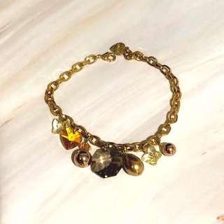 Bracelet 水晶 手鍊 手鏈 crystals glamour earth tone