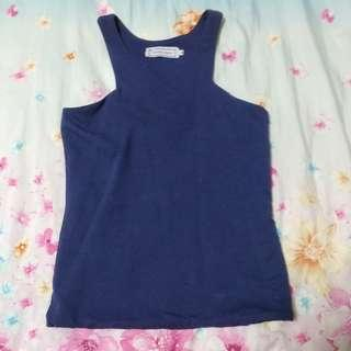 brand new the tinsel rack navy blue top (: