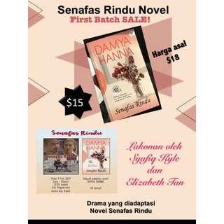 Senafas Rindu Novel