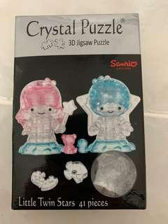 Little Twin Stars 3D Crystal Puzzle