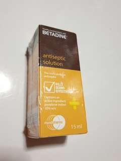 🚚 Betadine Antiseptic Solution - sealed