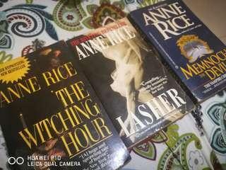 Anne Rice Set