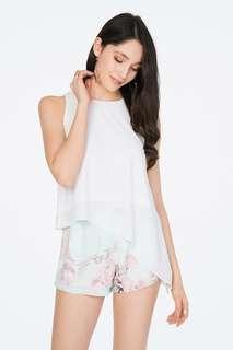 TCL Mint Floral Shorts