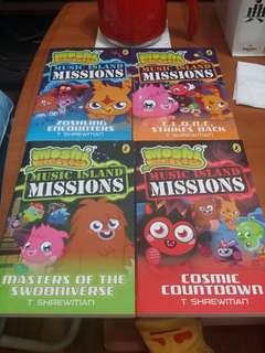 Moshi Monsters SET OF 4( 100% NEW)