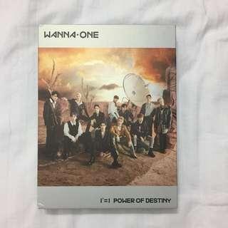 READY STOCK - WANNA ONE POD POWER OF DESTINY (ONLY ALBUM)