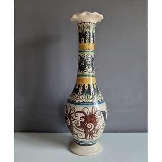 Vintage Hand Painted Sarawak Vase