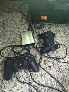 ps2 hardisc full game and usb joy stick pc 360