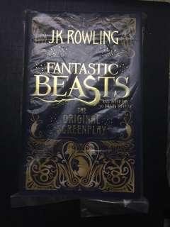 Fantastic Beasts and Where to Find Them (The Original Screenplay) [Hard Cover]