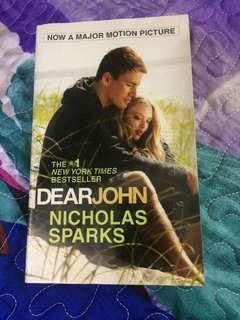 Preloved book: Dear John