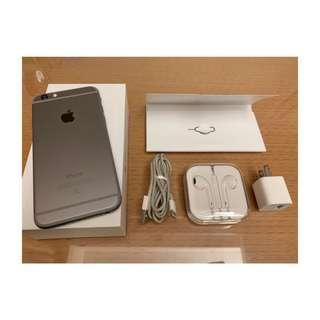 🚚 只有一支!iPhone 6 太空灰 64G 附全新原廠耳機