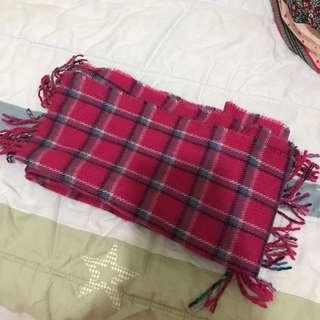 🚚 格子圍巾