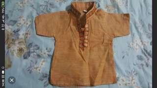 Indian costume for newborn boy