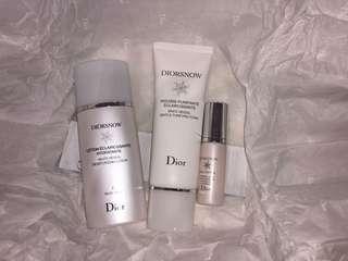 Diorsnow Skincare Set