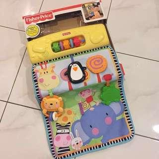 Fisher Price Play Yard Activity Center