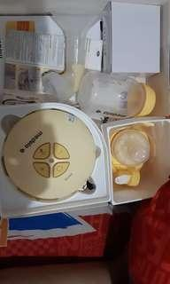 Medela swing breast pumping