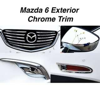 Mazda 6 Exterior Chrome Trim
