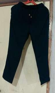 Navy blue tight pants