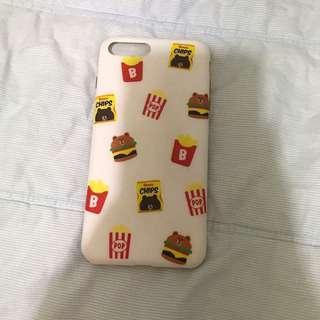 熊大漢堡手機殼🍔(i7 plus)