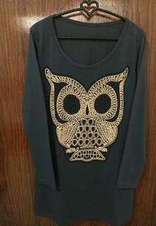 Kaos Gambar OWL