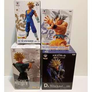 Banpresto Dragon Ball Z Craneking Super Saiyan Trunks 龍珠 杜拉格斯 孫悟空 景品 膠公仔 figma