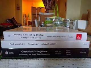 (3 Buku) Business Ethics Concepts & Cases | Crafting & Executing Strategy | Operation Management