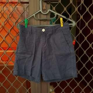[FREE ONG] Giordano shorts celana pendek navy