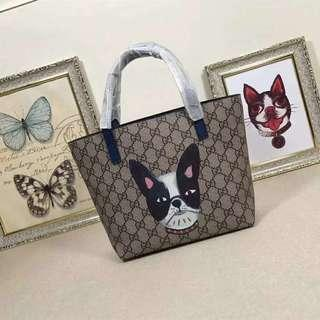 [ 1:1 🔥] Gucci Cat Signature Tote Handbag with Boxes (FREE POSTAGE)