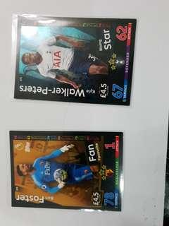 Rare Match Attax Cards