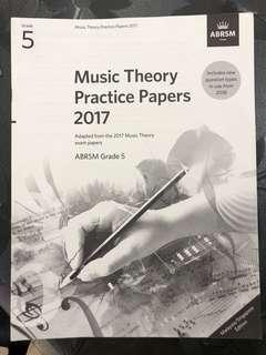 Abram Grade 5 theory paper