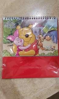 Winnie the Pooh 2019 calendar
