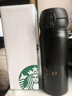 Starbucks台灣萬聖節特別版保溫杯