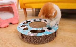 CNY New Year New Toys! BN Cats Scratchboard Interactive Toy for Cats Kittens! Ready Stocks!!