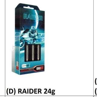 41729c423e07e one80 Raider 24g DART PIN SET 90% TUNGSTEN Barrel Steeltip Professional Set