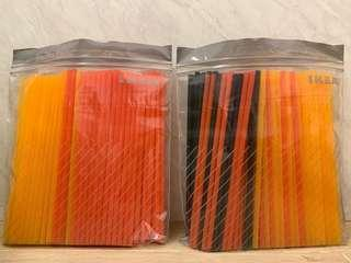 Coloured Plastic Straws