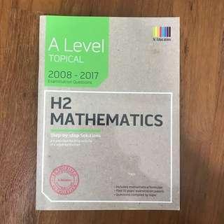 h2 math a level 10 year series 2008-2017