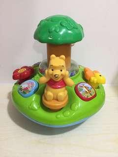 Vtech Winnie the Pooh 玩具 95%新