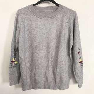 BNIP Grey Knit Sweater