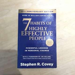 The Seven (7) Habits of Highly Effective People