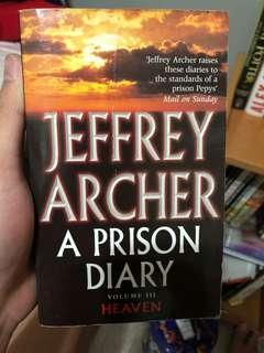 🚚 The Prison Diaries by Jeffrey Archer
