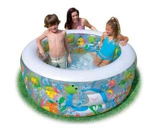 🚚 INTEX 58480 Goldfish Pool Inflatable Pool Children's Pool Inflatable Pool -intl