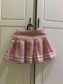 H&M tennis skirt pink