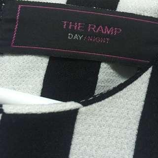 THE RAMP Black and White Minidress