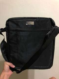 🚚 Brand new Singapore Exchange black sling bag