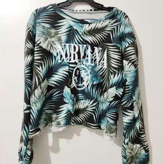 Nirvana Crop Sweater